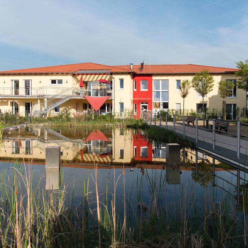 Gebäude Wohngemeinschaften Soziales Zentrum Espenau