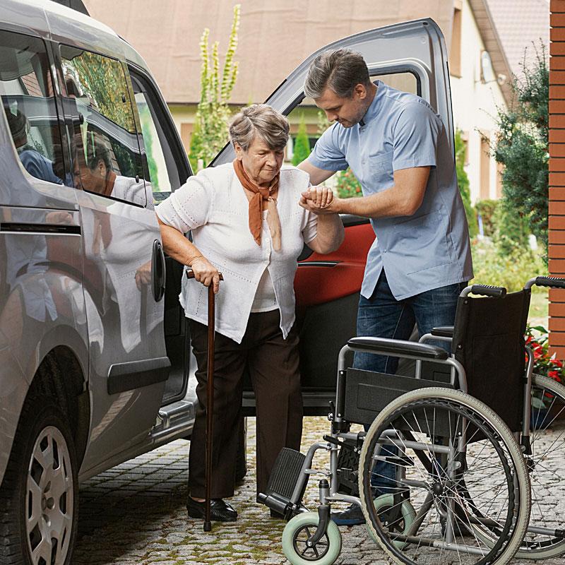Arztfahrten über die Hilfen im Alltag der Werk-Hilfe