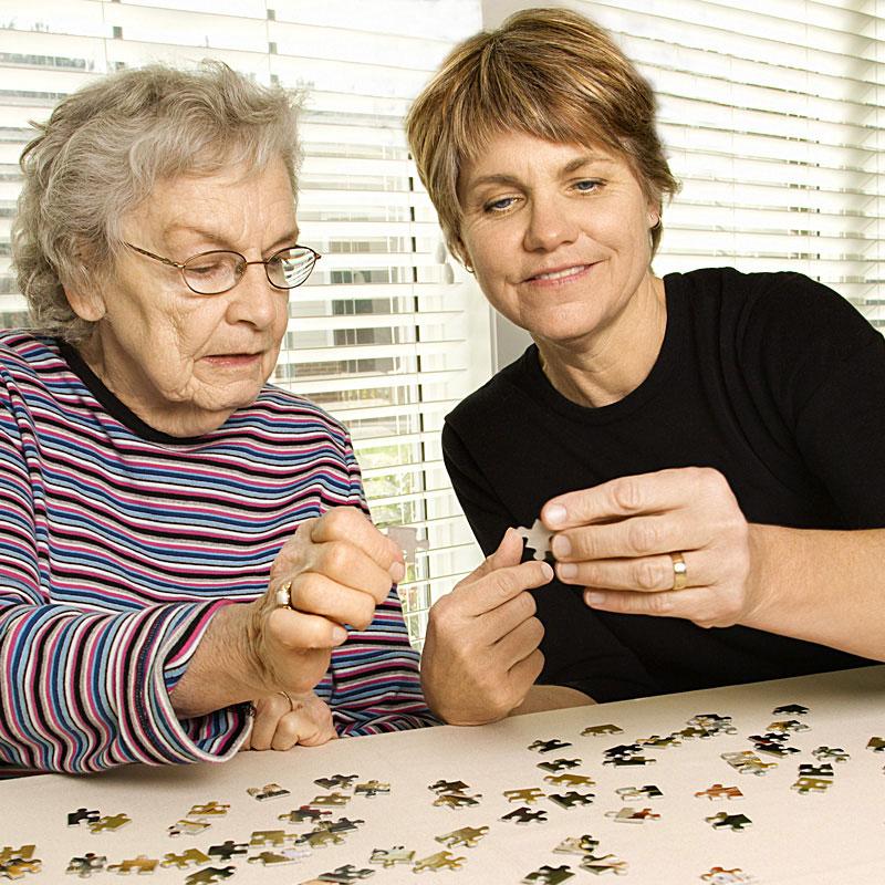 Werk-Hilfe für Hilfen im Alltag puzzeln