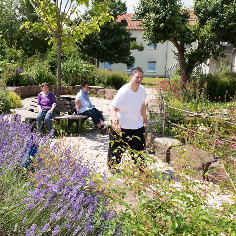 Garten Tagesförderstätte der Werk-Hilfe