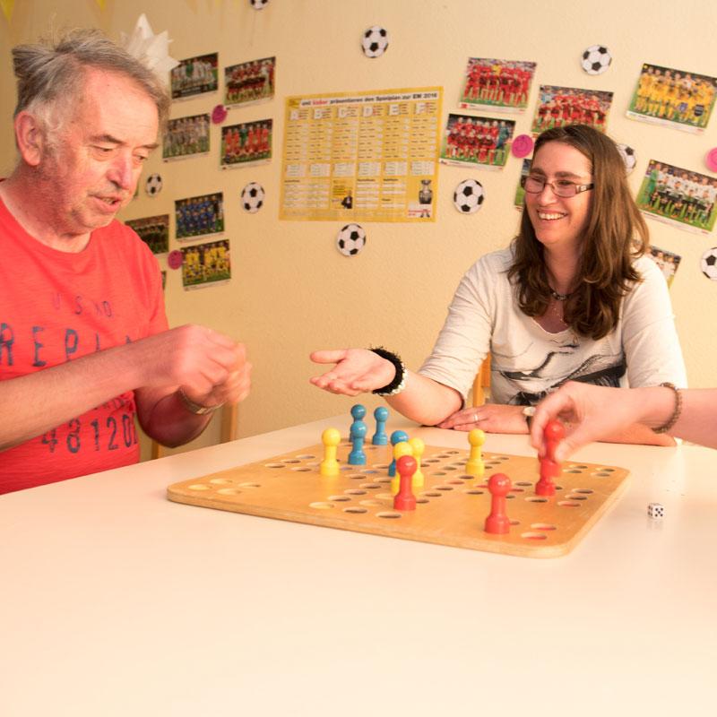 Gemeinschaftsspiel Tagesförderstätte der Werk-Hilfe