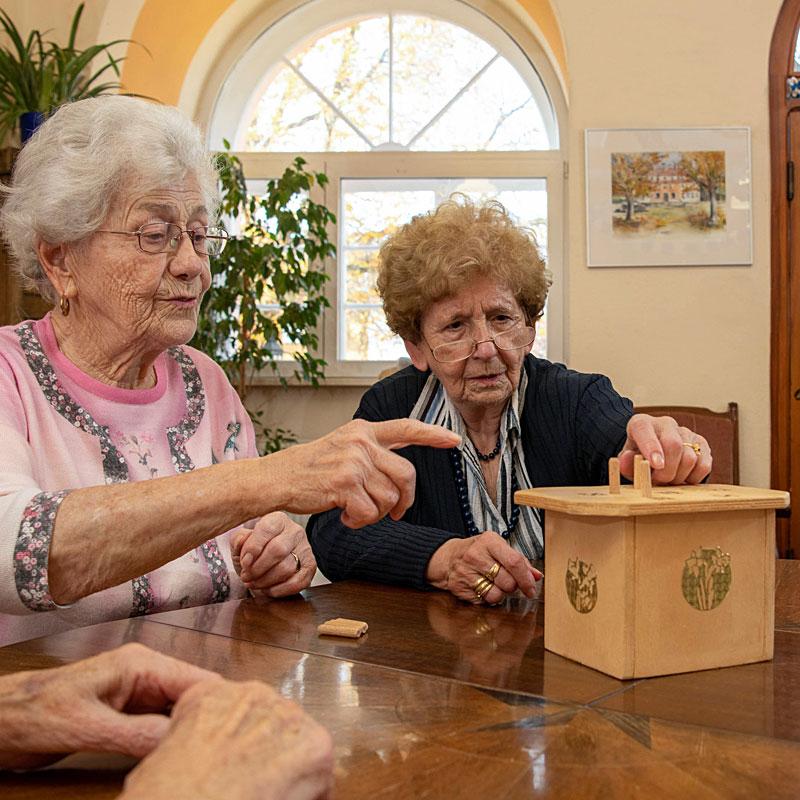 Gesellschaftsspiele Tagespflege Kastanienhof der Werk-Hilfe