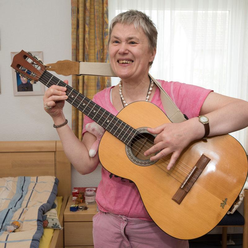 Wohnhaus Calden Musikunterricht
