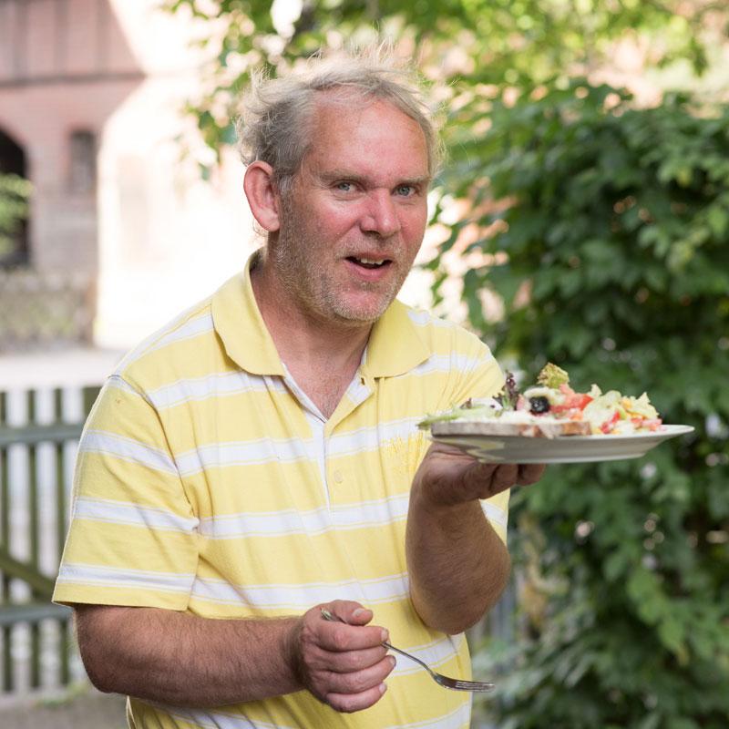 Abendbrotzeit Wohnhaus Heckershausen