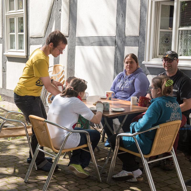 Garten Wohnhaus Heckershausen