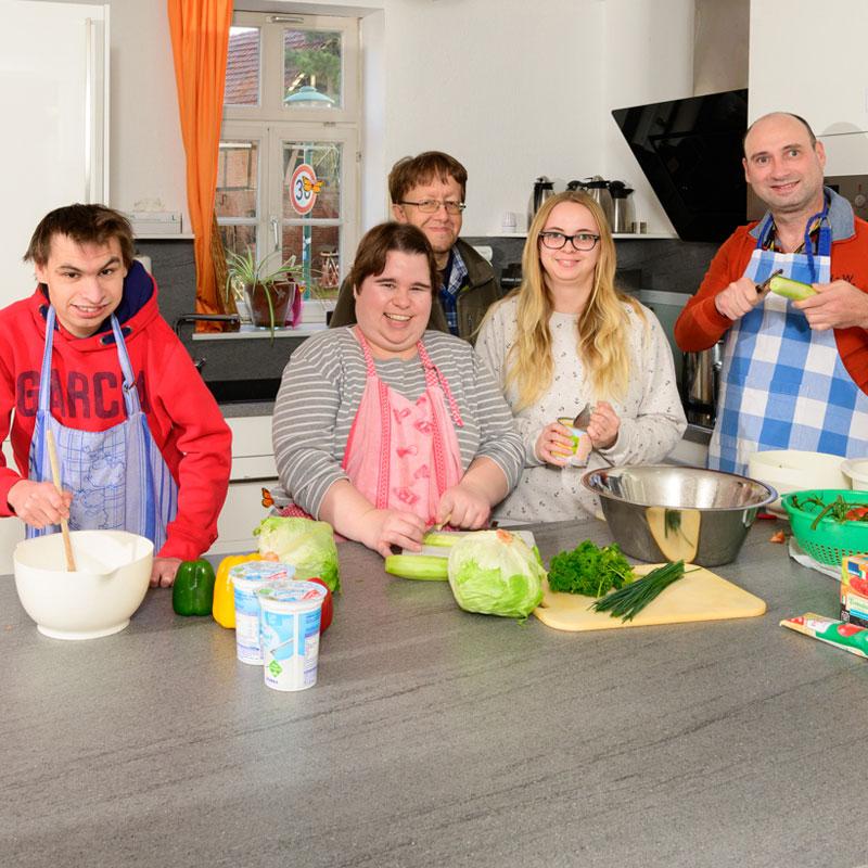 Küche des Wohnhaus Heckershausen